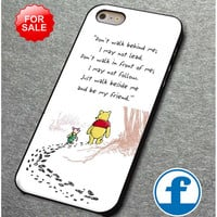 Disney Winnie The Pooh Quotes  for iphone, ipod, samsung galaxy, HTC and Nexus PHONE CASE