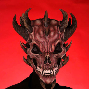 Costume Masks Devil Skull Halloween Mask