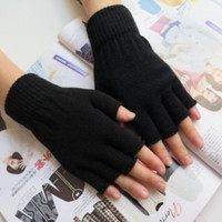 Fingerless Knit Gloves. All Colors