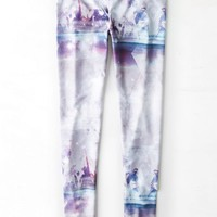 AEO Women's Hi-rise Color Burst Legging (Multi)