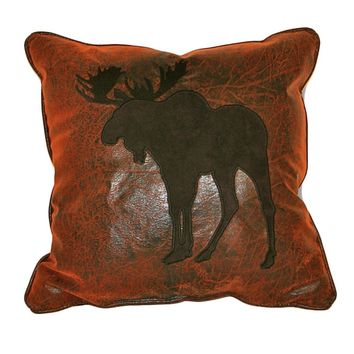 Croscill Plateau Moose 16-inch Throw Pillow | Overstock.com Shopping - The Best Deals on Throw Pillows