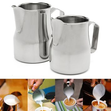 Stainless Steel Milk Frothing  Pitcher for Espresso.