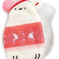 NPW 'Hot Buddies - Polar Bear' Reusable Hand Warmer with Sweater Knit Cover