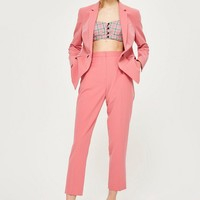 High Waisted Suit Trousers | Topshop
