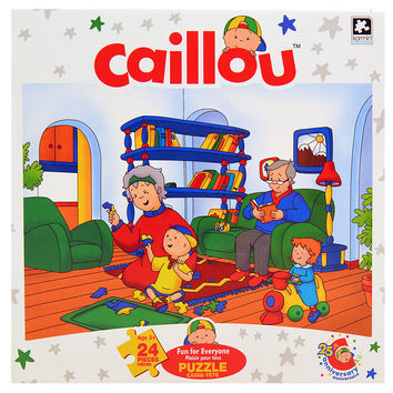 Caillou Jigsaw Puzzle [24 Pieces - Fun for Everyone]