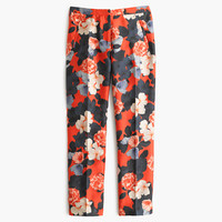 J.Crew Womens Collection Graphic Peony Pant