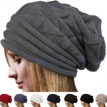 Skiing Skating Warm Knitted Cap