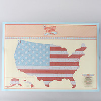 Luckies The United States of America Scratch Map : Karmaloop.com - Global Concrete Culture