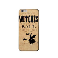 P7242 Vintage Halloween The Witches Ball Phone Case For IPHONE 6