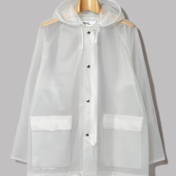 M.H.L. by Margaret Howell Rain Jacket (Clear P. U. Coating) – Oi Polloi