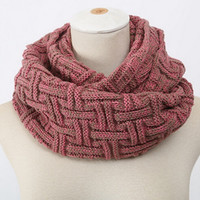Warm Scarf Knit Chunky Neck Warmer