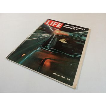 Time Life Magazine May 30 1969 40c Volume 66 Number 21 Our Deadliest Highways -- Used