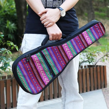 Top Quality Cotton Tenor 26' Concert 23' Soprano 21' Ukulele Bag Gig Bag