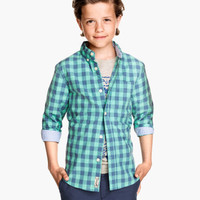 Button-down Shirt - from H&M