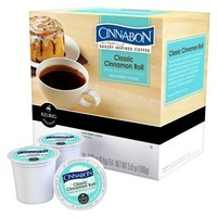 Keurig® Cinnabon® Bakery Inspired Coffee Classic Cinnamon Roll Light Roast Coffee K-Cups 18 ct