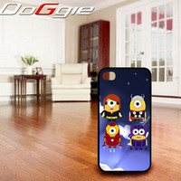 Despicable Me Adventure Minions - iPhone 4 Case ,iPhone 5 case,samsung galaxy S2, s3 and Samsung galaxy s4 Hard Plastic Case
