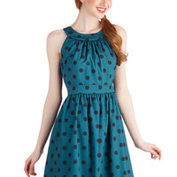 ModCloth Mid-length Sleeveless A-line Gals' Night Haute Dress