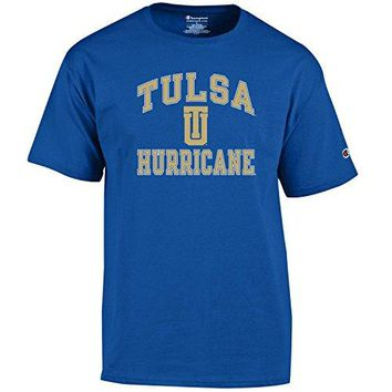 Champion NCAA Men's Shirt Short Sleeve Officially Licensed Team Color Tee : Sports & Outdoors
