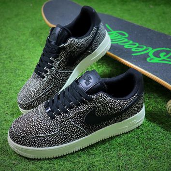 Nike Wmns Air Force 1 '07 LX Animal Prints Pack Stingray Sneaker AF1 898889-002 Shoes - Best Online Sale