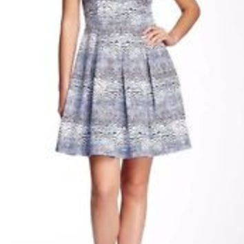 Trina Turk Casey Fit & Flare Dress