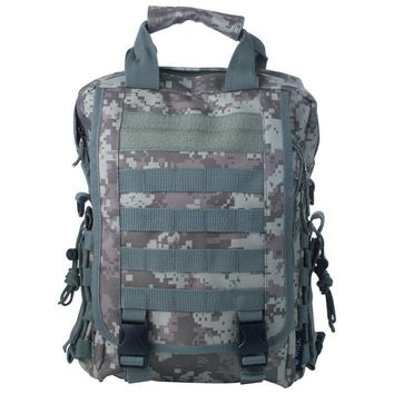 Digital Camo Water-Resistant Heavy-Duty Tactical Backpack