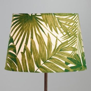 Jungle Print Cotton Accent Lamp Shade
