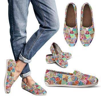 Bohemian Pattern Casual Shoes-Clearance