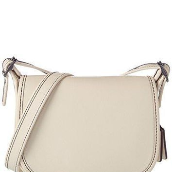Coach Women's Leather 18 Saddle Bag