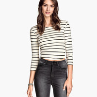 H&M Short Jersey Top $12.95