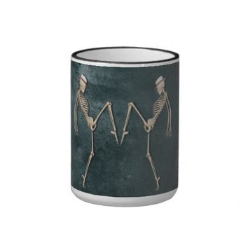 Cool Dancing Skeletons Coffee Mug