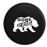 Gone Wild Bear Outdoors RV Camper Jeep Spare Tire Cover