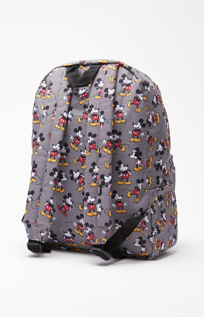 a6f78f54c0 Vans - Disney Old Skool II Mickey Mouse School Backpack - Mens Backpacks -  Gray - NOSZ