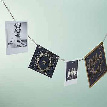 chained up silver photo cord