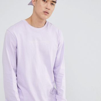 Sweet SKTBS Long Sleeve T-Shirt In Purple at asos.com