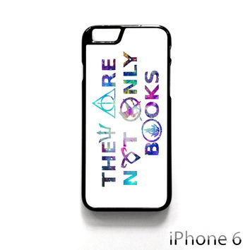 They Are Not Only Books Harry Potter The Hunger Games for Iphone 4/4S Iphone 5/5S/5C Iphone 6/6S/6S Plus/6 Plus Phone case