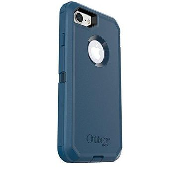 OtterBox DEFENDER SERIES Case for iPhone 7 (ONLY) - Frustration Free Packaging - BESPOKE WAY (BLAZER BLUE/STORMY SEAS BLUE)