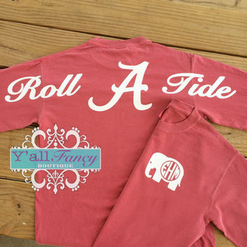 Alabama ROLL TIDE Comfort Colors Short Sleeve T-Shirt - Ya'll Fancy