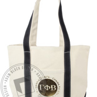Gamma Phi Beta Gold Tote Bag - Adam Block Design