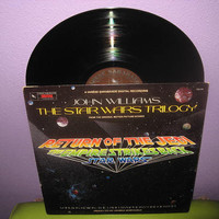 Star Wars Trilogy Original Soundtracks Vinyl LP 1983