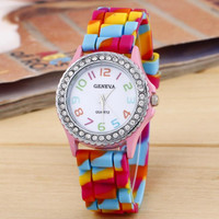 Tie-dyed Silicone Watch