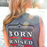 Jadelynn Brooke: Born & Raised Tank {Blue Jean}