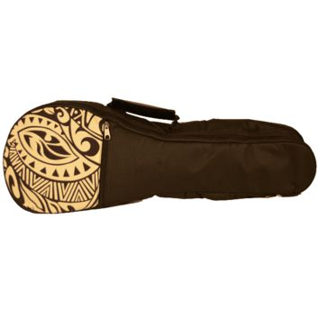 Kala Padded Cream Pattern Ukulele Bag