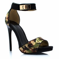 Hide And Seek Camo Heels - GoJane.com