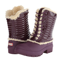 Hunter Original Patent Pac Boot Bright Plum - 6pm.com