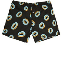 ODD FUTURE Allover Donut Boxers - Mens Headphones - Black
