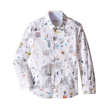 Paul Smith Junior - Boy City Button Shirt Long Sleeve, White