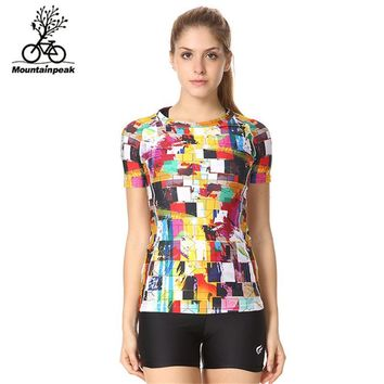 4 Patterns Women Running Shirts Workout Yoga Shirts Size S-3XL Female Fitness Sports Shirts Quick Dry Breathable Gym Shirts