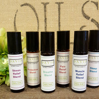 Essential Oil Roll-on Blends