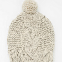 Chunky Cable-Knit Beanie - Urban Outfitters