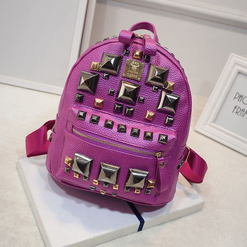 On Sale Stylish Comfort Hot Deal Back To School Casual College Korean Ladies Backpack [6583223175]